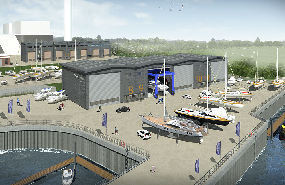 Artist's impression of the proposed Kingston Wharf development. Image: HGP Architects